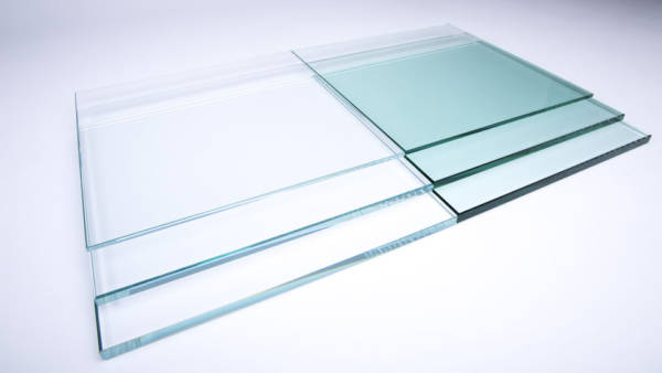 Buy Glass image of 15mm Low Iron Toughened Glass with free delivery