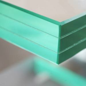 Buy Glass image of 33.04mm Toughened Triple Laminated Glass with free delivery